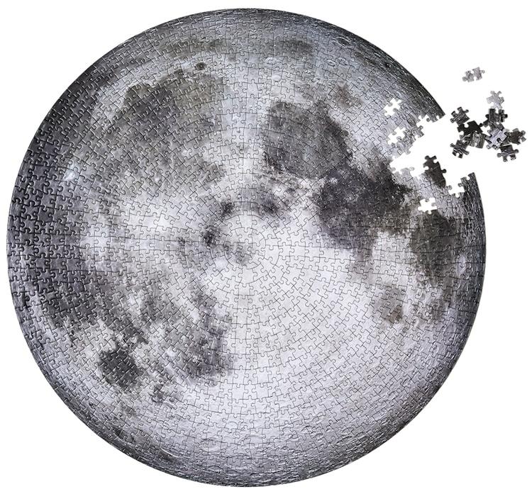Rompecabezas de la Luna