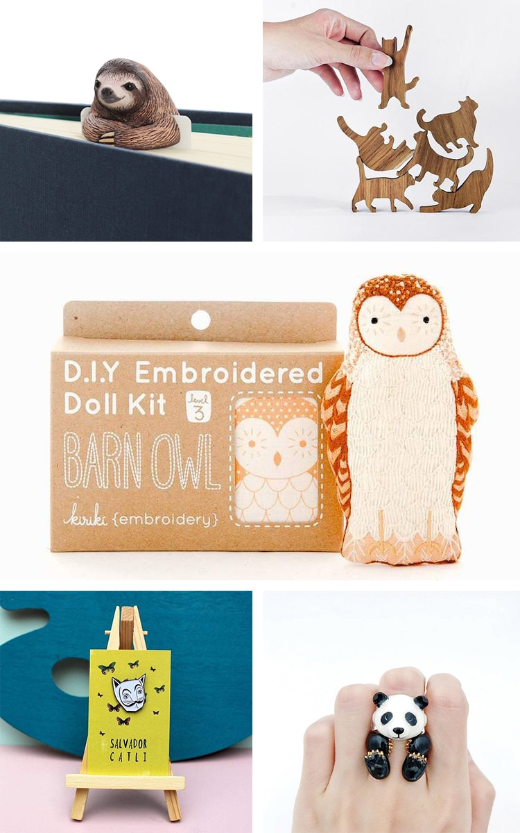 Gifts for Animal Lovers Collage