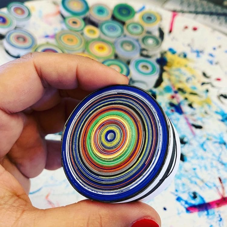 Paper Quilling Art by Hadieh Shafie