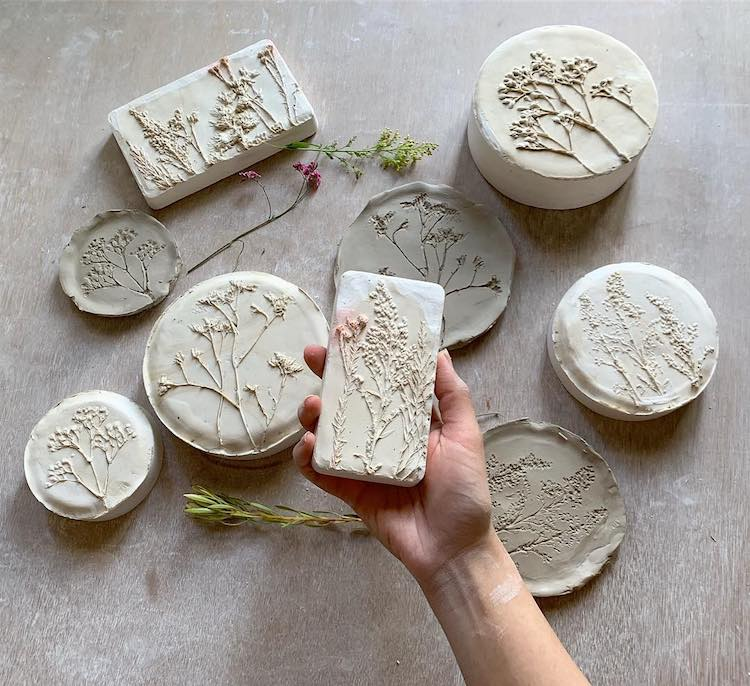 Hessa Al Ajmani Floral Ceramics