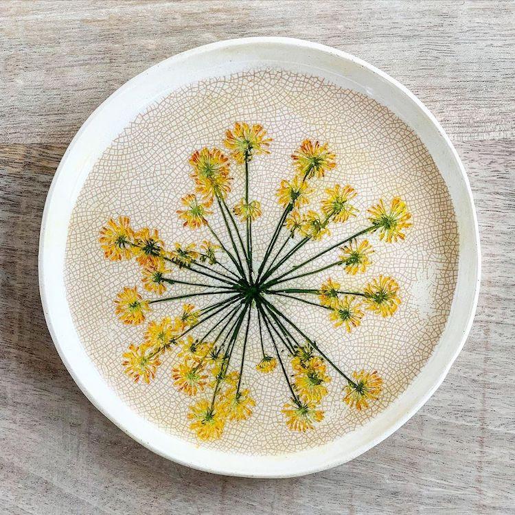 ceramica floral