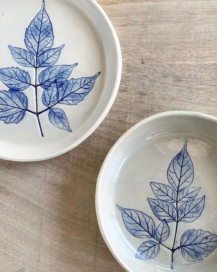 Hessa Al Ajmani Flower-Pressed Ceramics