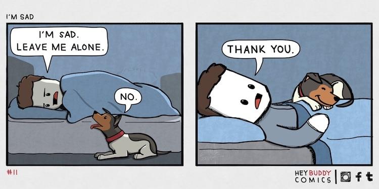 Hey Buddy Dog Comics