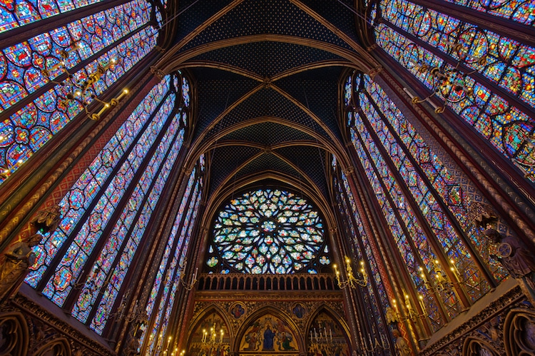 Sainte Chapelle Stained Glass