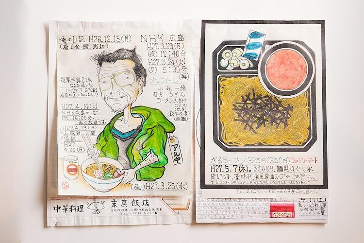 Food Diary by Itsuo Kobayashi