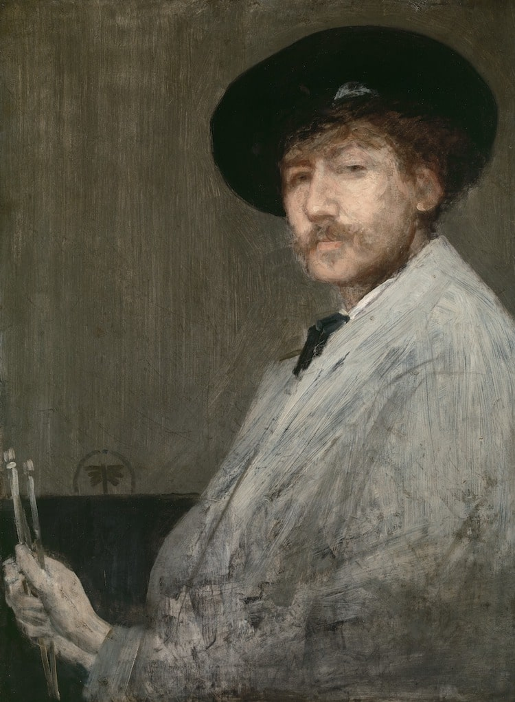 James Abbott McNeill Whistler Portrait