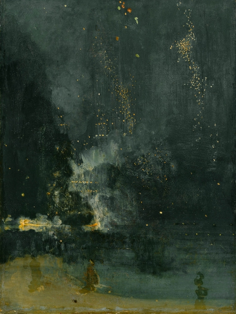 James McNeill Whistler Painting