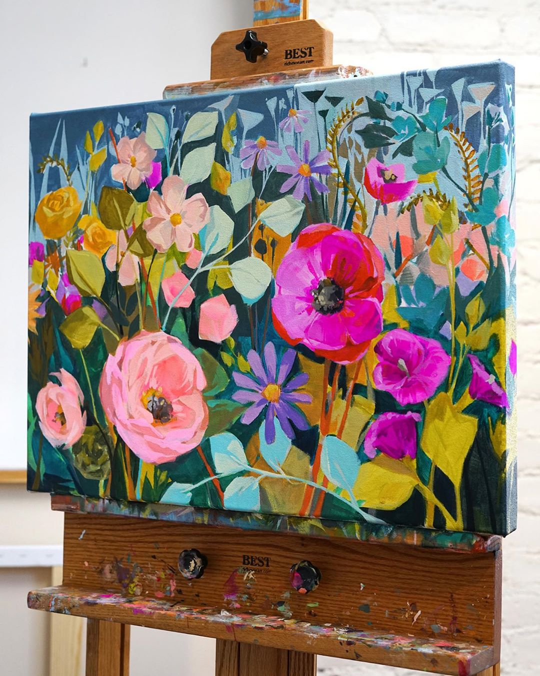Flower Painting by Jess Franks