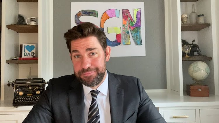 John Krasinski Some Good News YouTube Show