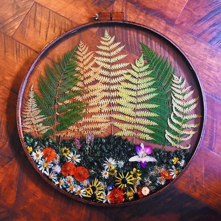 Jupiter Oak Jewelry Terrarium