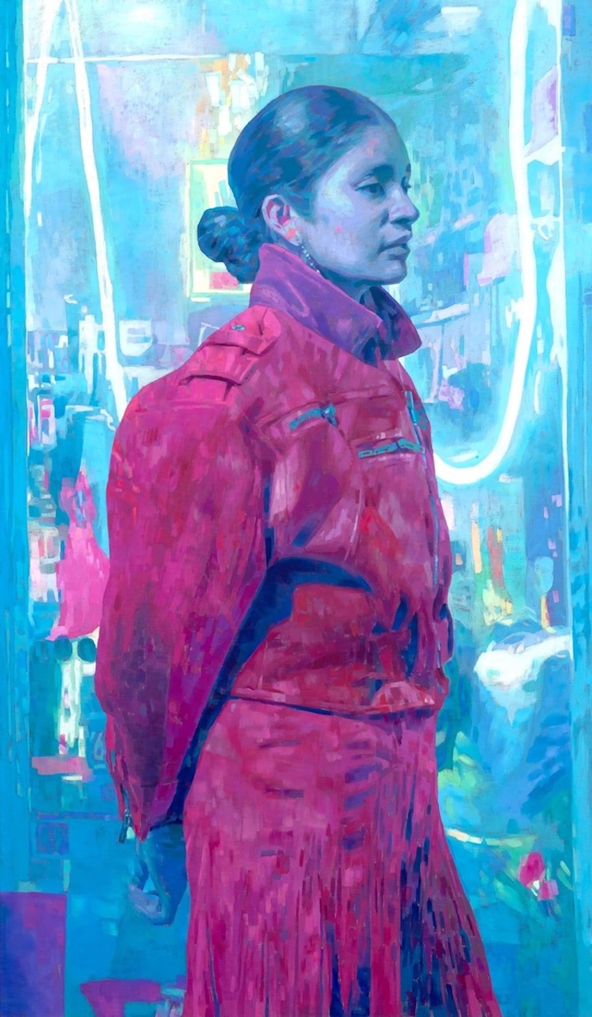 Pintura al óleo de Keita Morimoto