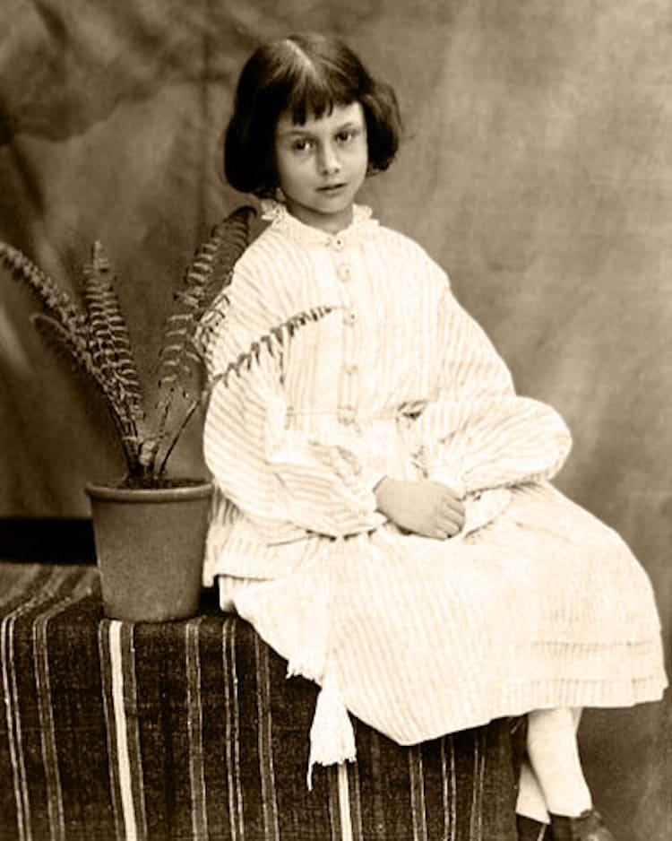Portrait of Alice Liddell