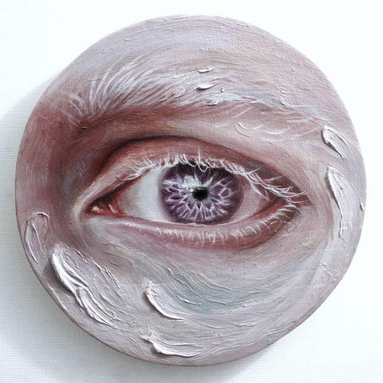 Maldha Eye Paintings