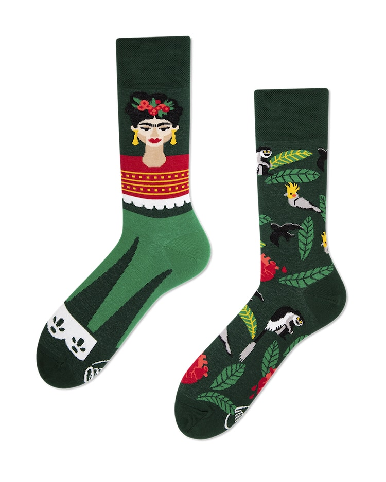 Feel Frida Socks by Many Mornings