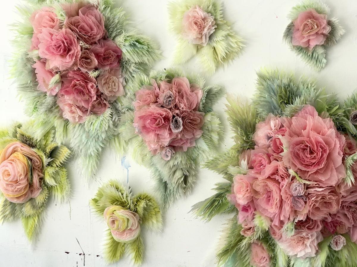 Paper Flowers by Marianne Eriksen-Scott Hansen