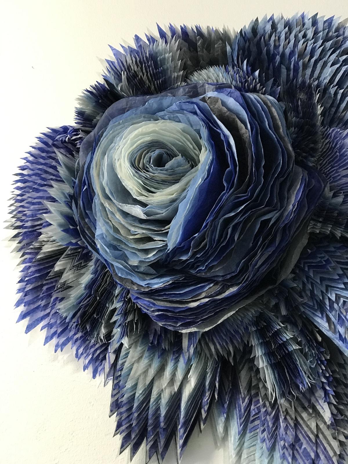 Paper Flower Sculptures