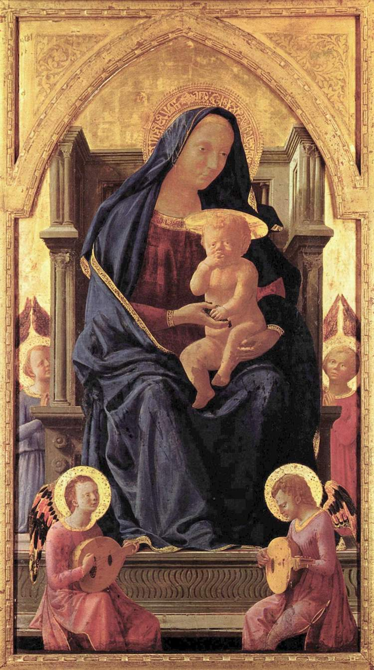 La Virgen María de Masaccio