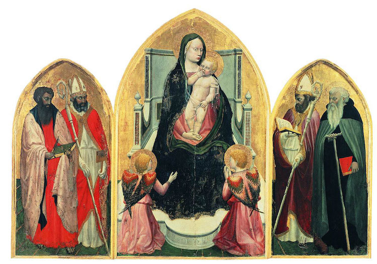 Tríptico de San Juvenal de Masaccio