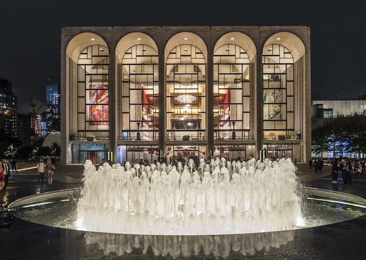 Transmiciones gratuitas de la Ópera Metropolitana