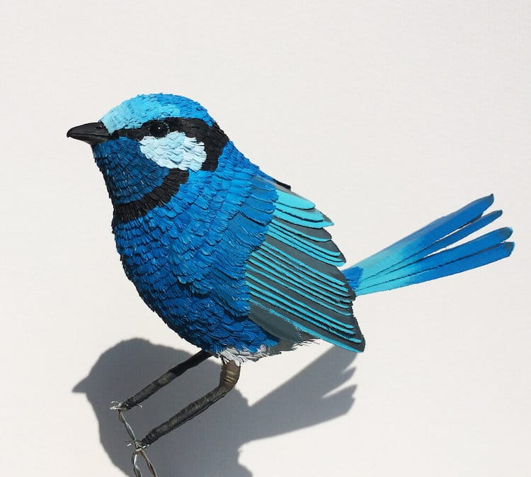 Realistic Bird Sculpture