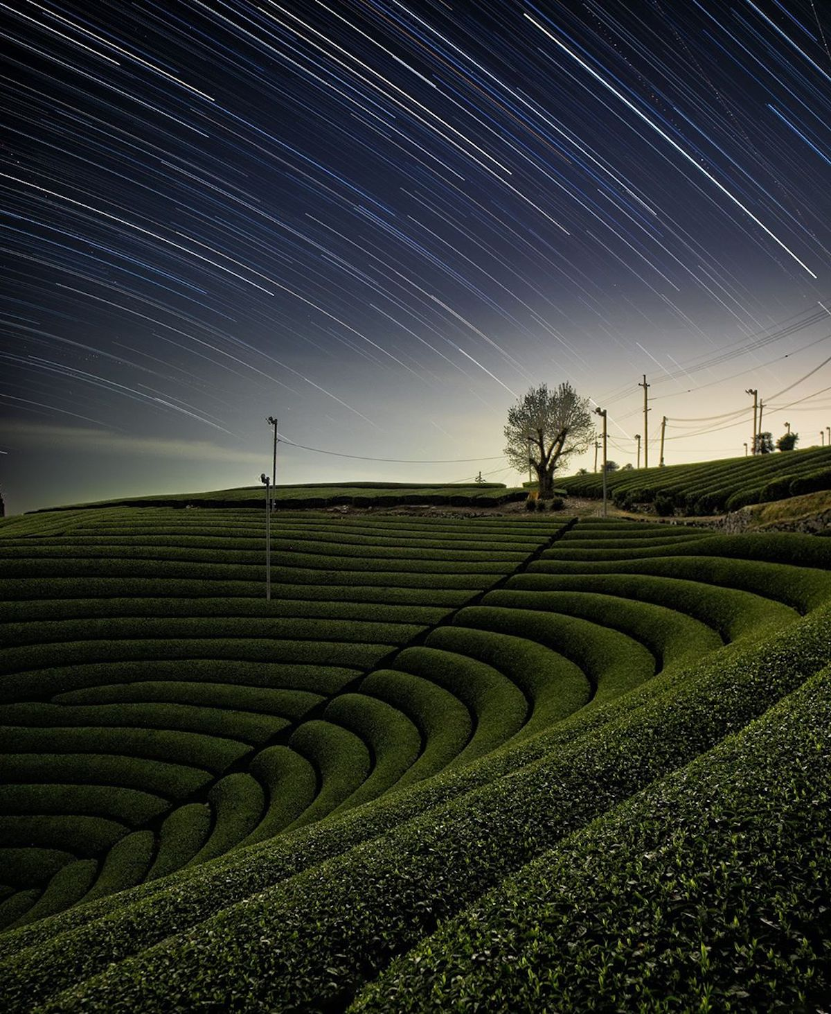 Long Exposure Nighttime Photography by Nori Yuasa
