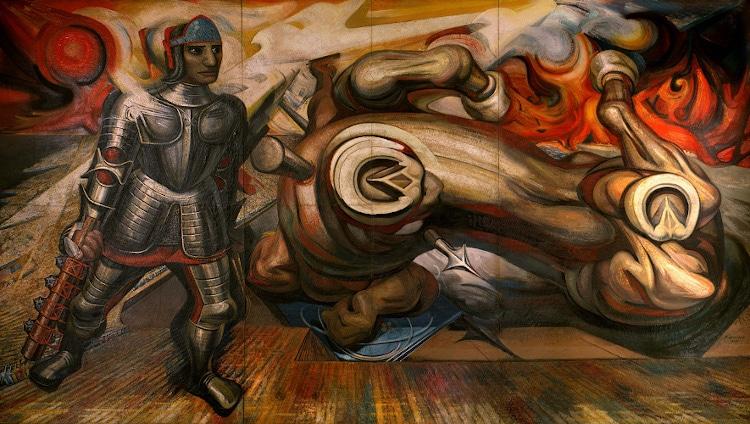 pintores mexicanos david alfaro siqueiros