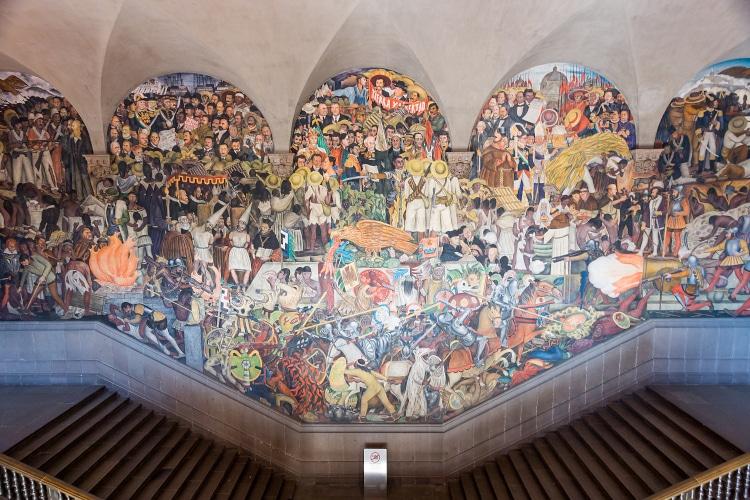 pintores mexicanos diego rivera
