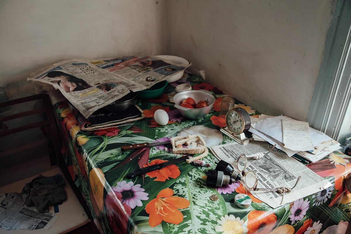 habitantes de chernobil por Raul Arantes