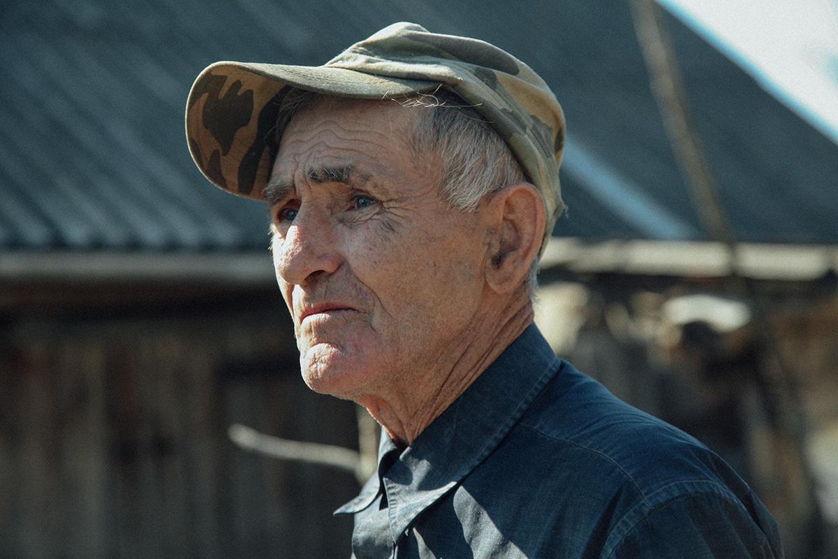Portrait of Samosely Man in Chernobyl