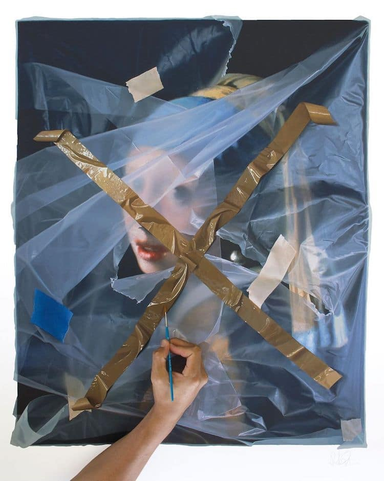 Illusionistic Painting by Robin Eley