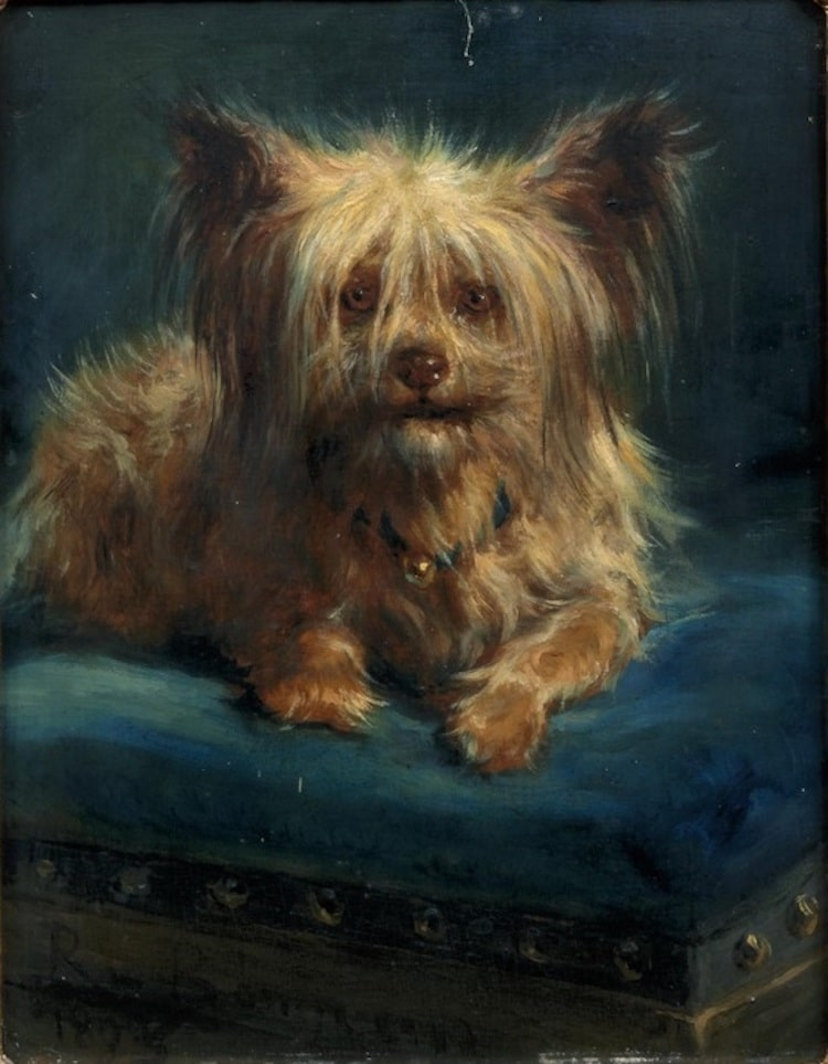 Rosa Bonheur Dog Painting