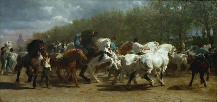 Rosa Bonheur the Horse Fair