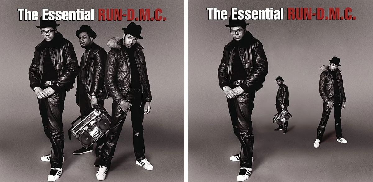 Run DMC Album Covers