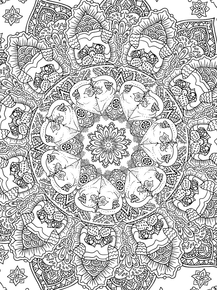 Society6 Coloring Pages
