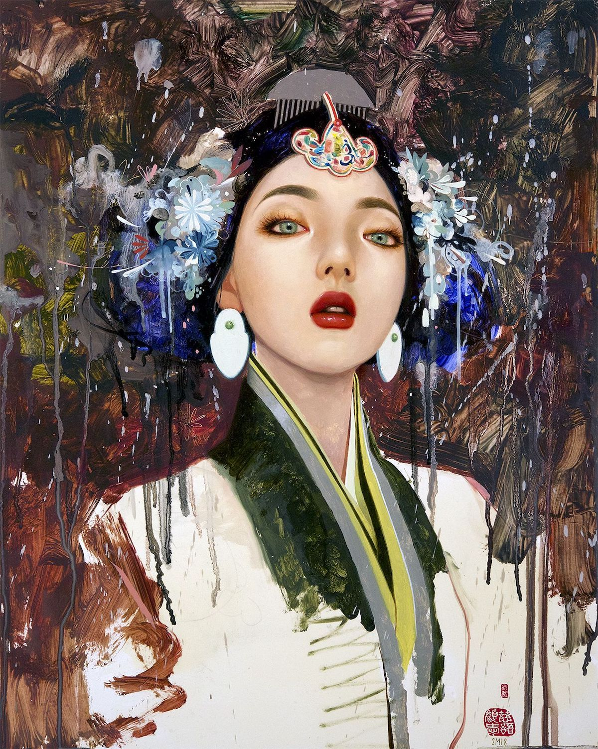Contemporary Figurative Paintings by Soey Milk