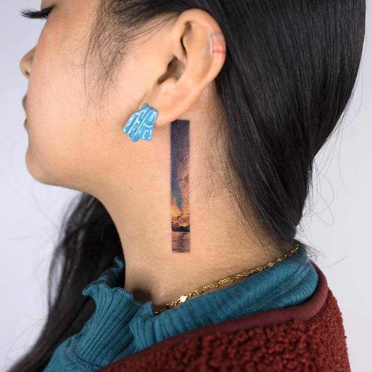 Rectangle Tattoo Ideas