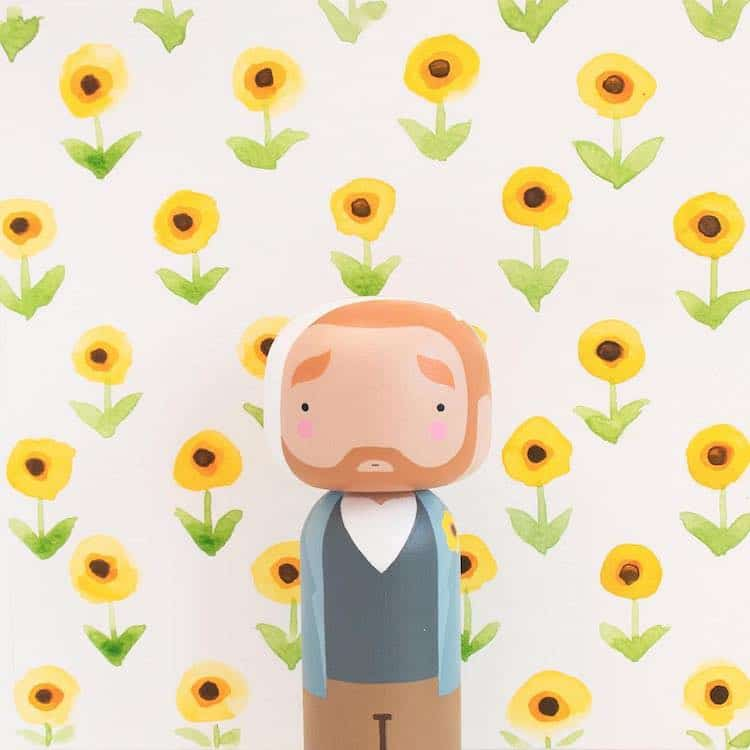 Vincent van Gogh Figure