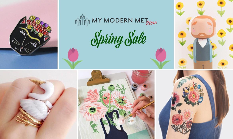 Spring Sale at My Modern Met Store