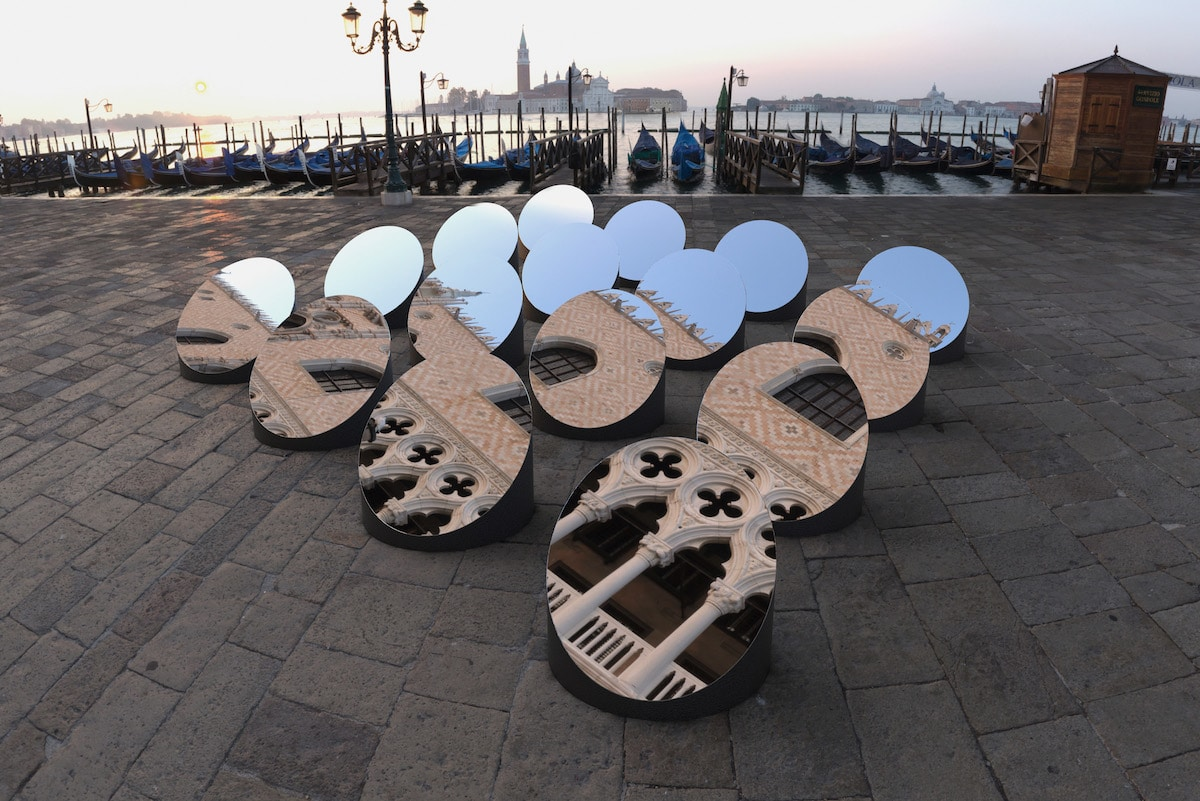 Mirror Art Installation in Venice