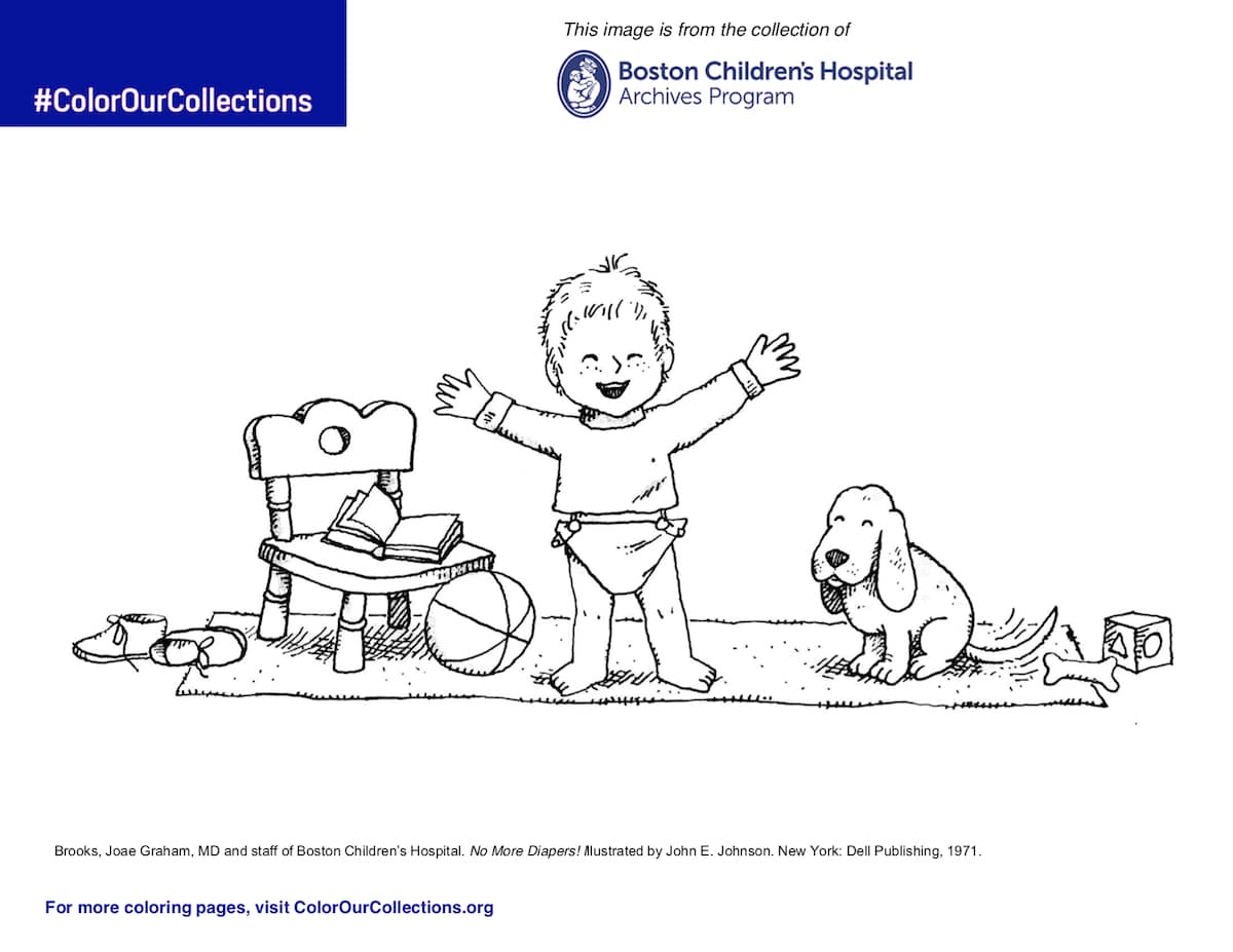 Free Coloring Page From Boston Children's Hospital
