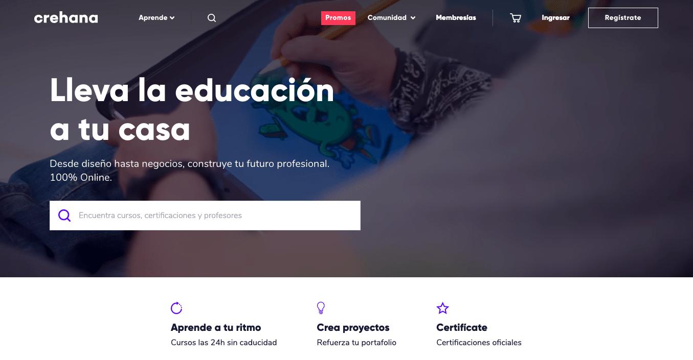 Crehana - cursos creativos en línea