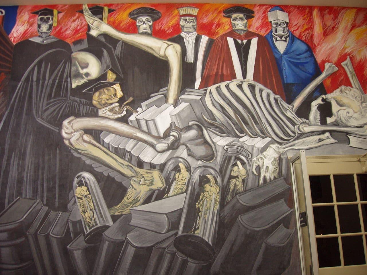 Mural de José Clemente Orozco en Dartmouth College