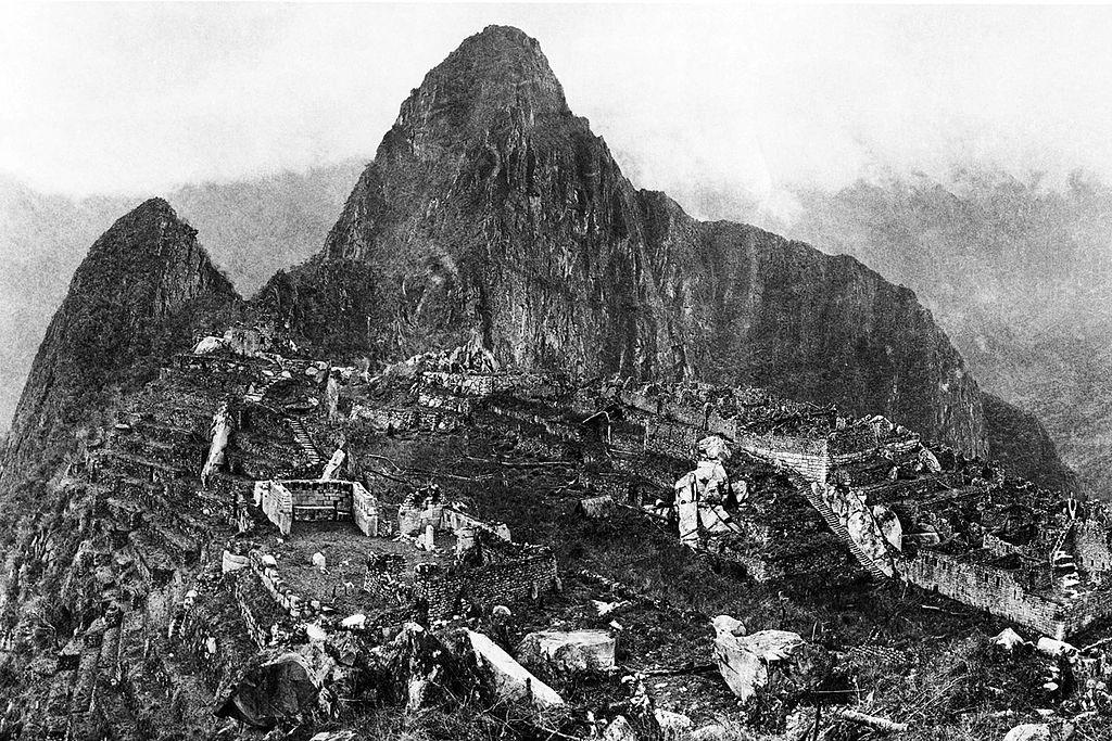 Machu Picchu en 1912