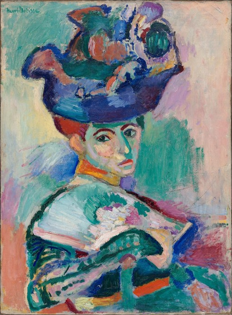 Woman with a Hat by Matisse
