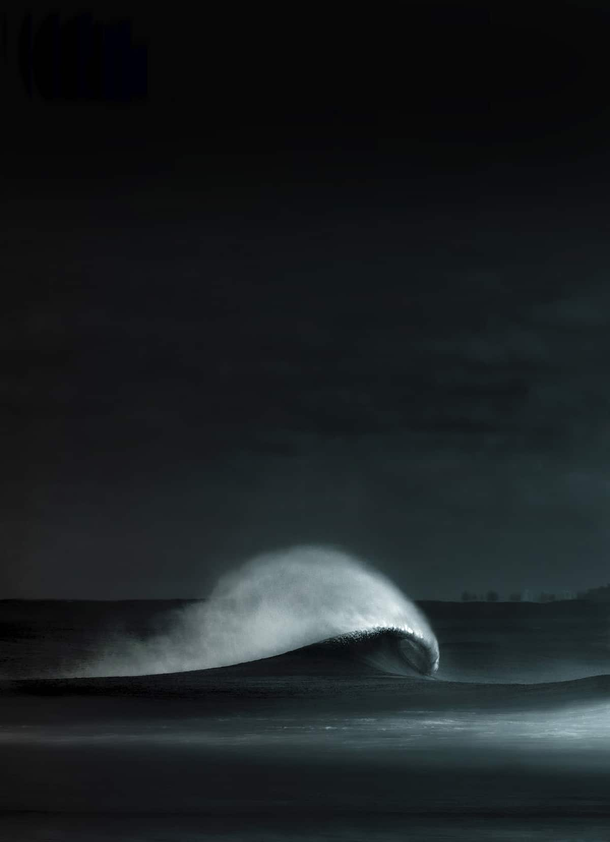 Artistic Photo of a Wave