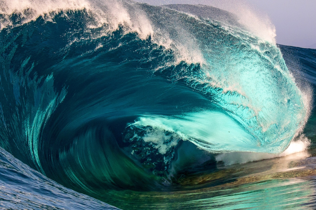 Wave Photography by Trent Slatter