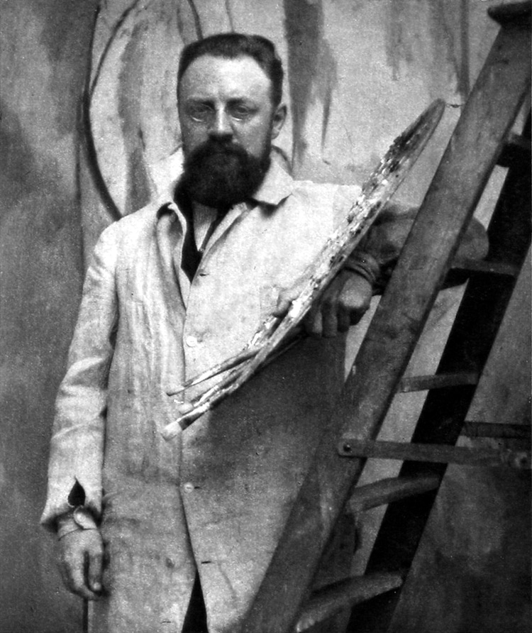 Photograph of Henri Matisse
