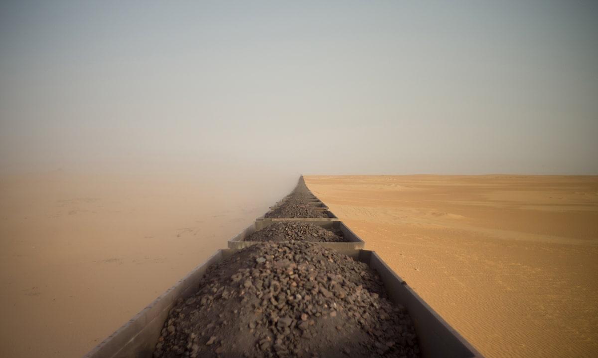 Train Tracks in the Sahara