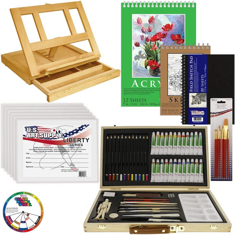 Acrylic Painting Set by US Art Supply