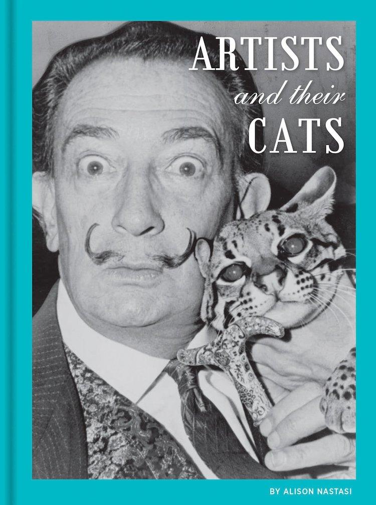 libro de artistas y gatos